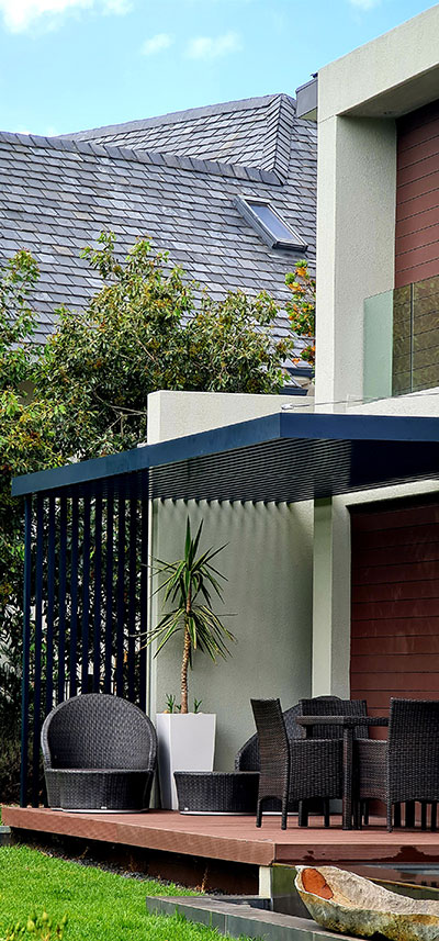 Custom Aluminium pergola installation Cape Town