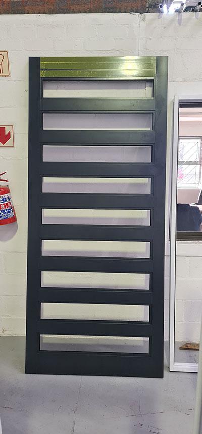 Custom Aluminium installation in Stellenberg