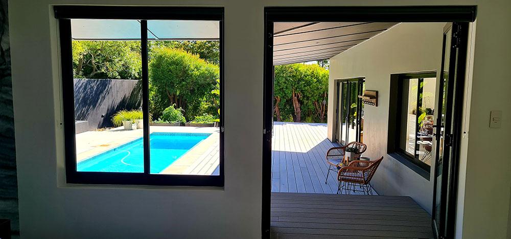 Custom Aluminium installations windows, doors and shutters in Tokai, Cape Town