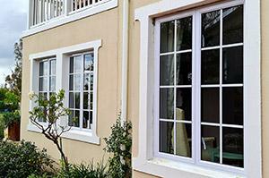 New aluminium window installations